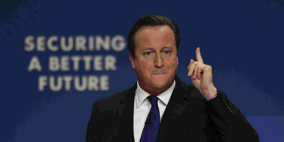 David Cameron - securing a better future (for who?)