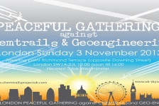 Peaceful Gathering against Chemtrails and Geoengineering