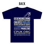 Ban Geoengineering T-shirt (back)