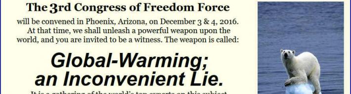 Global Warming - An Inconvenient Lie