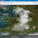Wales & England by satellite - 9th April 2012