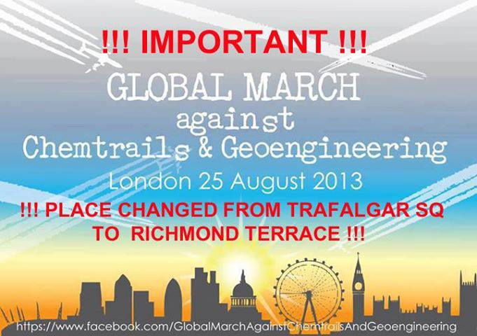 London March Moved