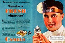 Smoke a fresh cigarette!
