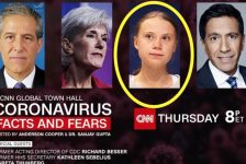 Greta Thunberg CNN COVID-19 panel