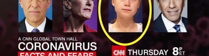 Greta Thunberg CNN COVID-19 panel