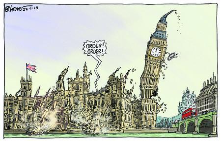 parliament crumbling